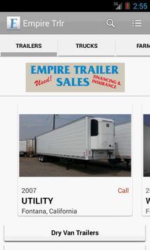 Empire Trailer Sales poster