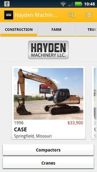 Hayden Machinery LLC poster