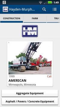 Hayden-Murphy Equipment poster