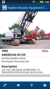 Hayden-Murphy Equipment apk screenshot