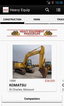 Heavy Equipment Resources Inc. poster
