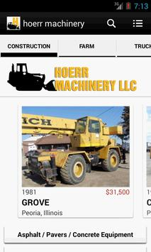 hoerr machinery poster