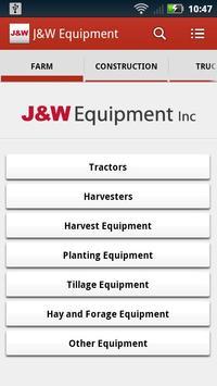 J&W Equipment poster