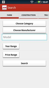 J&W Equipment apk screenshot