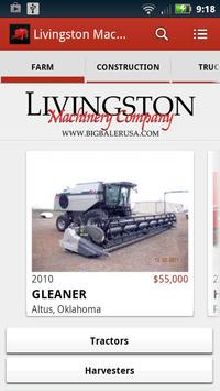 Livingston Machinery Company poster