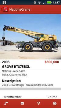 Nations Crane Sales apk screenshot