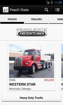 PEACH STATE FREIGHTLINER poster