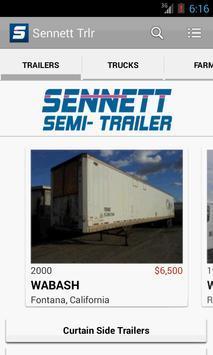 Sennett Semi Trailer poster