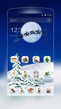 Snowing Christmas poster