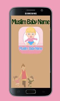 Muslim Baby Names poster