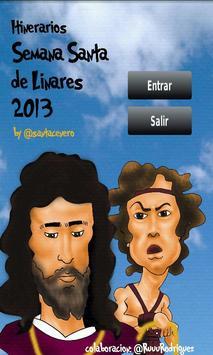 Semana Santa Linares 2013 poster