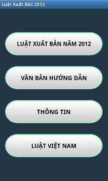 Luat Xuat ban 2012 poster