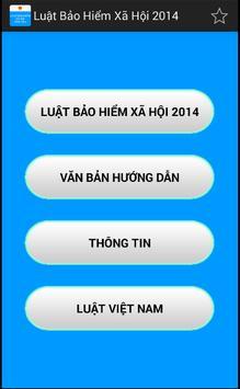 Luat Bao hiem xa hoi 2014 poster