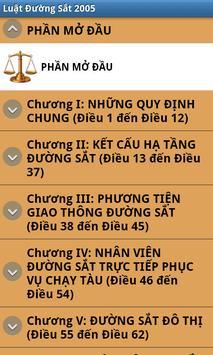Luat Duong sat Viet Nam 2005 apk screenshot