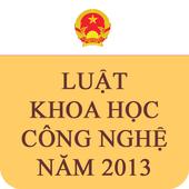 Luat Khoa hoc cong nghe 2013 icon