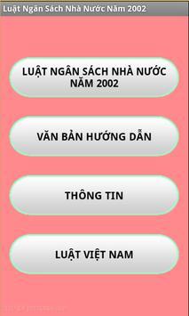 Luat Ngan sach nha nuoc 2002 poster