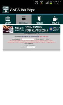 SAPS Ibu Bapa Semakan Online apk screenshot