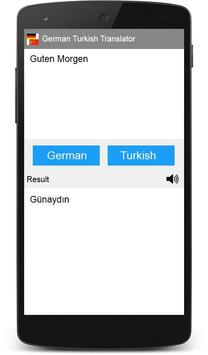 German Turkish Translator poster