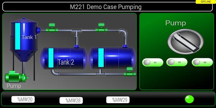 Scada Touch Lite ( HMI-Modbus) apk screenshot