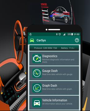 CarSys Scan apk screenshot