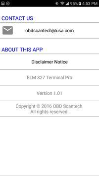 ELM 327 Terminal Pro apk screenshot