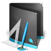photo editing, painted image icon