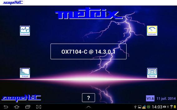 METRIX ScopeNet apk screenshot