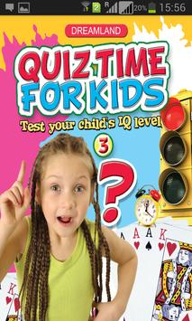Quiz Time Age 5+ poster