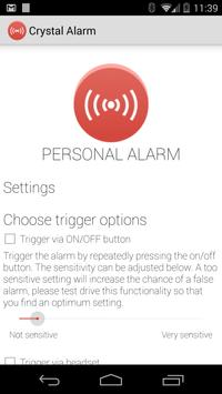 Crystal Alarm apk screenshot