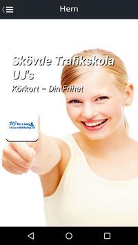 Skövde Trafikskola UJ's poster