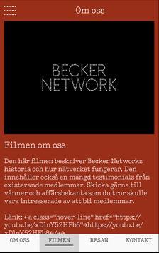 Becker Network medlem apk screenshot