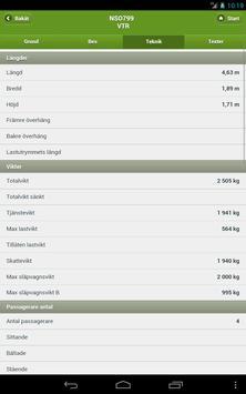 Fordonskontroll apk screenshot