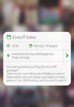 KICKOFFLOVE apk screenshot