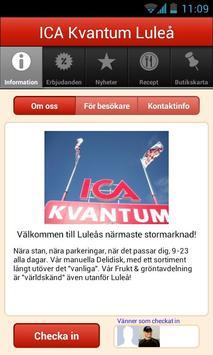 ICA Kvantum Luleå poster