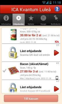 ICA Kvantum Luleå apk screenshot