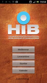 HiB poster