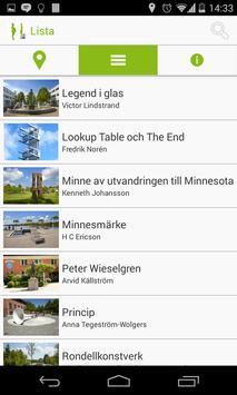 Offentlig konst i Växjö apk screenshot