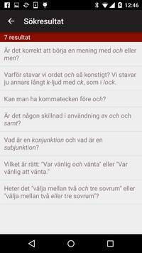 Språkrådet apk screenshot