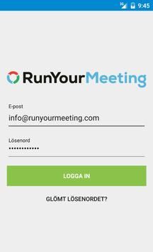 RunYourMeeting apk screenshot