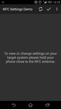NfcSettings Demo poster