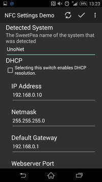 NfcSettings Demo apk screenshot