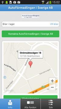 AutoFörmedlingen i Sverige AB poster