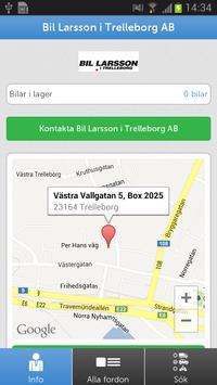 Bil Larsson i Trelleborg AB poster