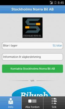 Stockholms Norra Bil poster