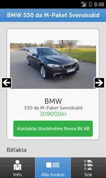 Stockholms Norra Bil apk screenshot