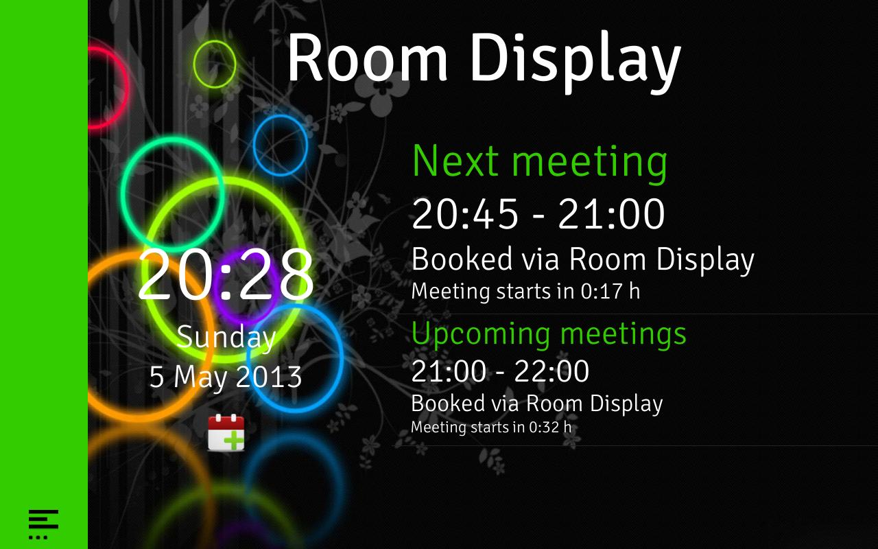 Android Meeting Room Display App