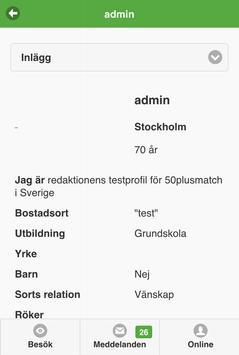 50PlusMatch.se apk screenshot