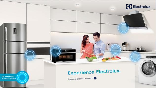 Electrolux Product Application poster