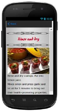 Seafood Gazpacho apk screenshot