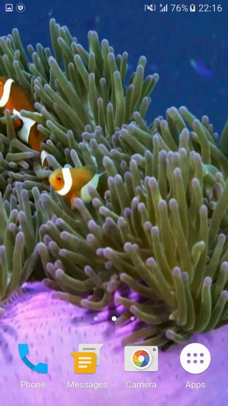underwater world live wallpaper apk